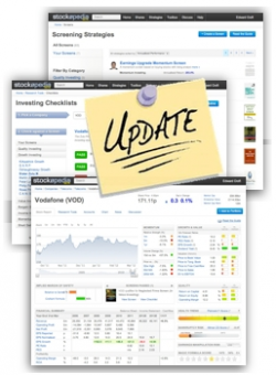 Site Upgrades Portfolios Alerts and Extended Coverage